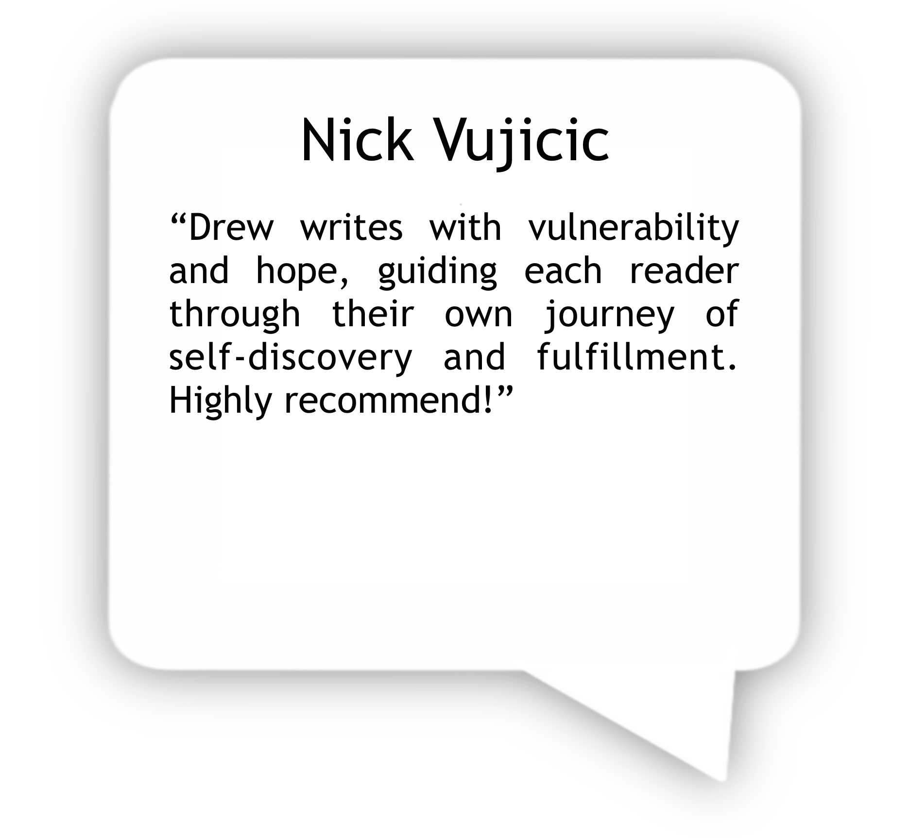 Nick Vujicic Review- Stand Guard at the Door of Your Mind